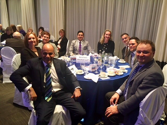 Oakville Awards table of 8