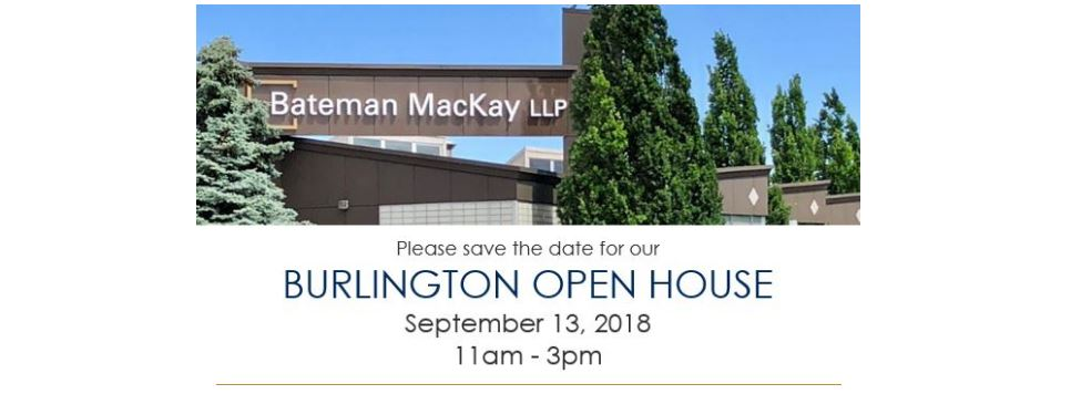 Open House Save the Date September 13