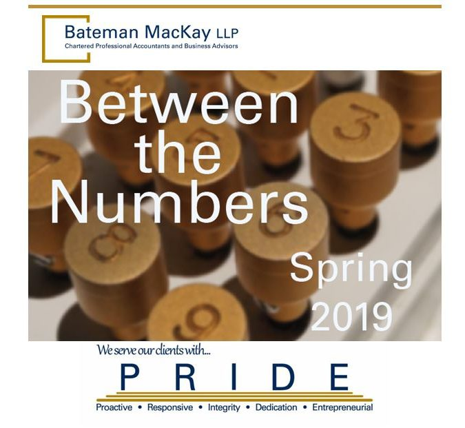 Between the Numbers Spring 2019