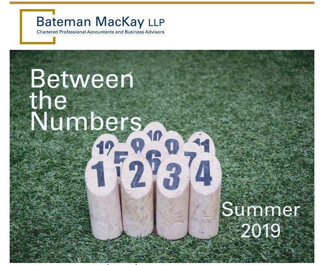 Between the Numbers Summer 2019