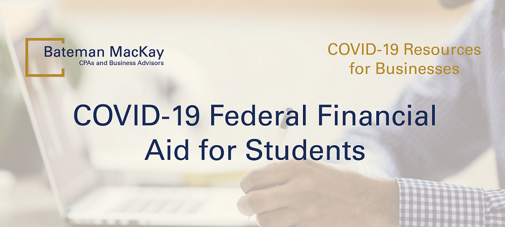 COVID-19 Federal Financial Aid for Students