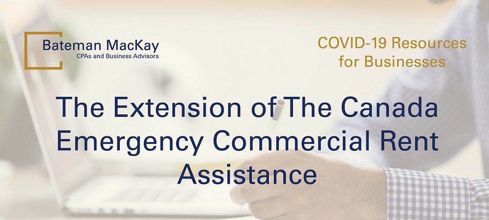 The Extension of The Canada Emergency Commercial Rent Assistance