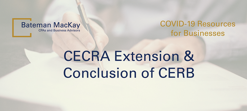 CECRA Extension & Conclusion of CERB